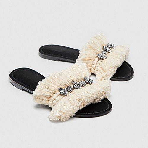 38 pantofola ladies il toed YMFIE di trapano In staminifera nuovo acqua sandali infiorescenza primavera tipo 37 estate ed antislittamento xx7wT6qO
