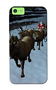 049773e4596 Suffraganemay 3d Santa And Irvases Durable Iphone 5c Tpu Flexible Soft Case With Design