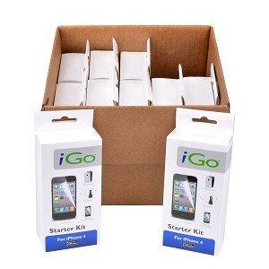 iGo 5-Piece Starter Kit for iPhone 4