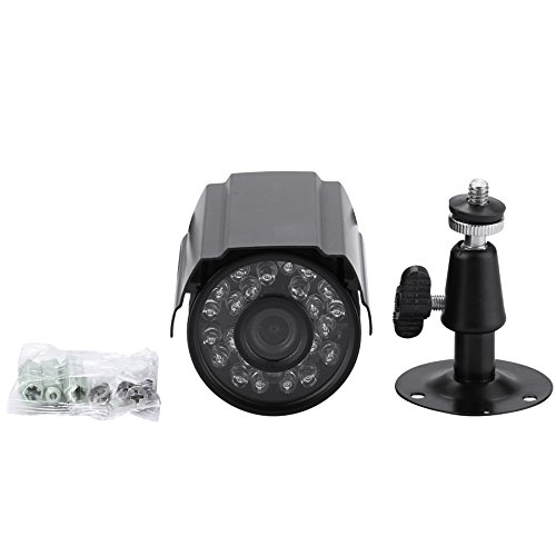 Amazon.com : AHD Camera 720P High Resolution 24pcs IR LED Nightvision Camera Waterproof Outdoor Mini Bullet Camera With 12V 2A Adapter : Camera & Photo