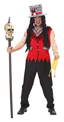 Voodoo Priest Costume Small For Father Vicar Zulu