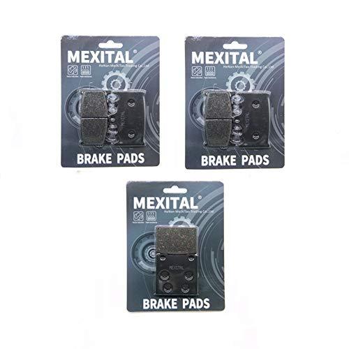 MEXITAL motorfiets remblokken voor MXB158-158-63 voor + achter.