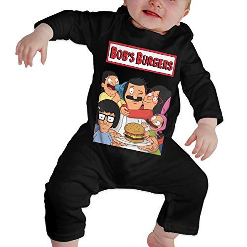 Bob's Burgers Funny Newborn Baby Infant Bodysuit Long Sleeve Crawler