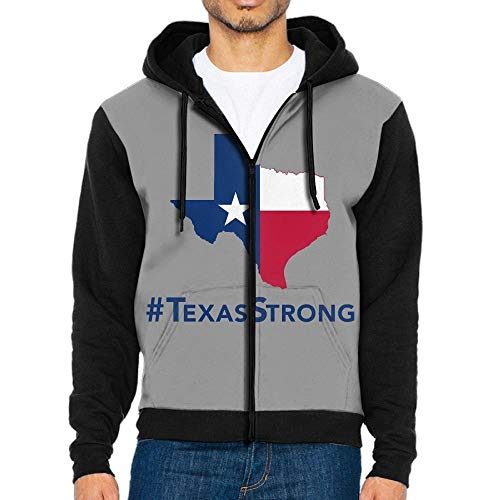 Adult Texas Strong Flag Sweatshirt Hooded Sweatshirt