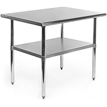 gridmann stainless steel commercial kitchen prep work table used tables drawers