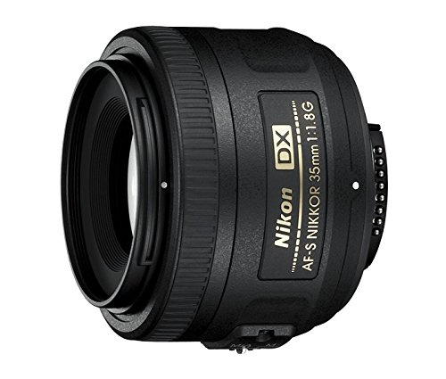 Nikon AF-S DX NIKKOR 35mm f/1.8G Lens with Auto Focus for Nikon DSLR Cameras (Best Lenses For Nikon Dx Format)