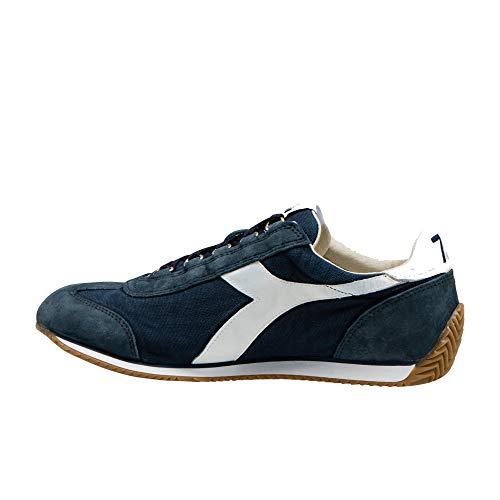 Scarpa Stone Canvas Diadora Blu Sneaker Unisex H Equipe Heritage Wash 5SSqwC0v