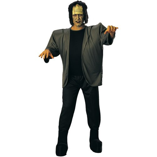 [Rubie's Costume Deluxe Adult Complete Frankenstein, Green, One Size Costume] (Adult Frankenstein Costumes)
