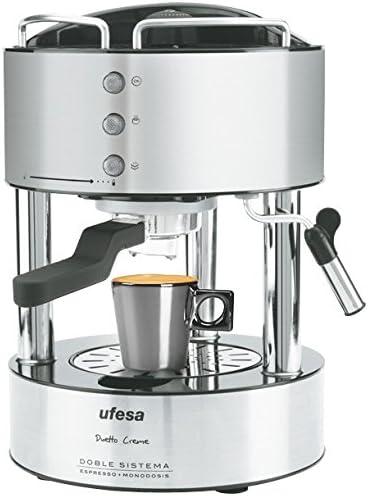 Ufesa CE7150 - Máquina de café (1080 W, 50/60 Hz, 220, 240 MB/s ...