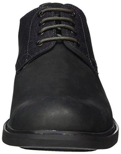 Hombre G para Raw Warth Zapatos Negro Derby Black de Cordones Star nqwnHg8xWZ