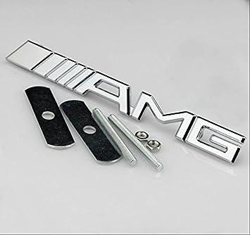 Mercedes Emblem Amg Metall Chrom Für Kühlergrill Vorne Benz Auto