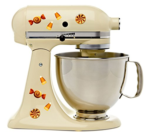 Halloween Autumn Candy Snacks Kitchen Decal Kit Mixer Machine Art Wrap ()