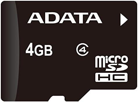 Adata Microsd 4gb Speicherkarte Adapter Schwarz Grau Computer Zubehör