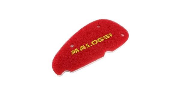 MALOSSI RED SPONGE AIR FILTER INSERT FOR Original Airbox Aprilia SR50/Air Filter Box from Build Year 2004/PIAGGIO MOT