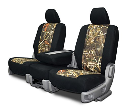 Custom Fit Seat Covers For Ford F-150 60-40 Seats - Neoprene & Advantage Max4 Camo