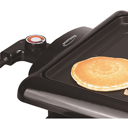 Brentwood  TS-840  Non-Stick  Electric  Griddle  with  Drip  Pan,  10  x  20  Inch,  Black by Brentwood (Image #5)
