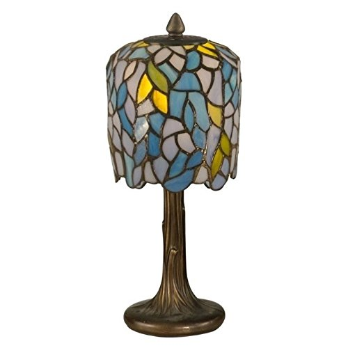 (Dale Tiffany TA11200 Wisteria Tiffany Mini Lamp, 6