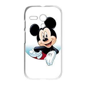 Motorola G Cell Phone Case White Disney Mickey Mouse Minnie Mouse DPE Droid Phone Covers