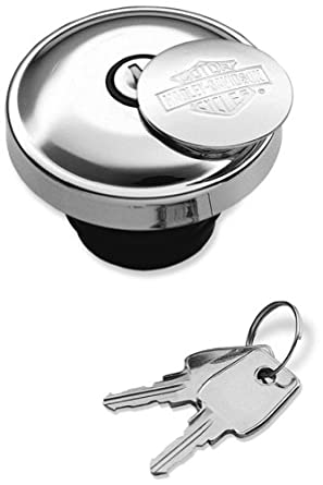Tapa de tanque de combustible con llave para Harley-Davidson ® Sportster Dyna Softail: Amazon.es: Juguetes y juegos