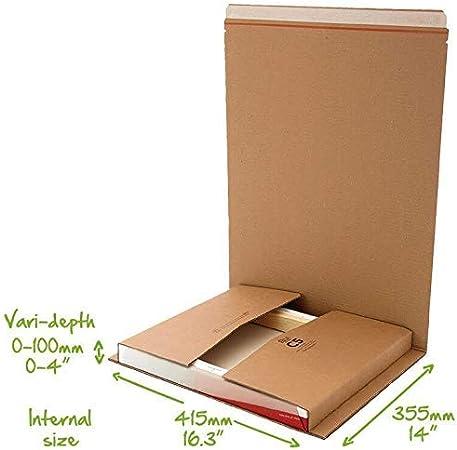Libro CD DVD Cartucho Cobertura C1 C2 C3 C4 C5 Cajas Postales Despegar & Retén Fáciles de Romper Tira Correo Listo Tarjeta Tablero Cobertura - C5 (415x355mm): Amazon.es: Hogar