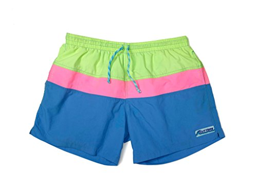 Cutters Apparel Men's Swim Trunks Surf Shorts with Mesh Lining - South Point, M (Mens Vintage Bathing Suit)