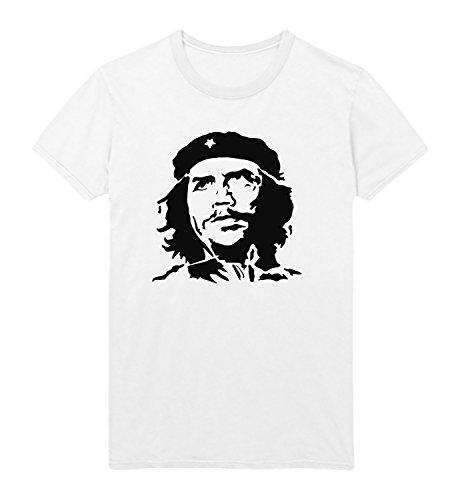 Guevara Che Face - MYMERCHANDISE Che Guevara Face Men T-Shirt Christmas Tshirt T Shirt Tee Black T-Shirt MD