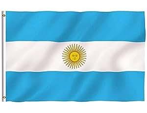 Bandera de Argentina 3Ftx5Ft poliéster