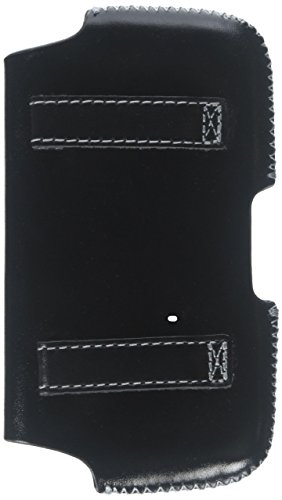 5800 Leather (Krussell 95472 Hector Large Horizontal Leather Case with Belt Loop for HTC Tilt 2, XV6175, S522, Nokia 5800, E75 - 1 Pack - Carrying Case - Retail Packaging - Black)