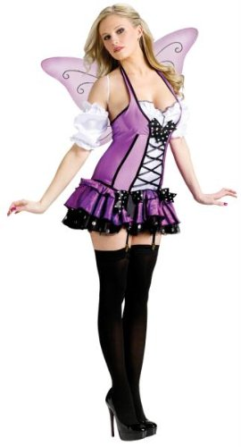 Lilac Fairy Adult Costume - - Costume Warehouse Sexy