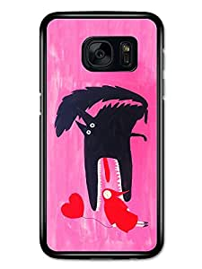 New Fairy Tale Red Riding Hood Cool Illustration New Fashion Style carcasa de Samsung Galaxy S7