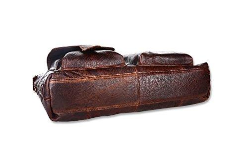 Borsa Retro Leather Borsa Borsa Messenger Cioccolato Uomo Messenger Borsa Casual E0TqCC1tWw