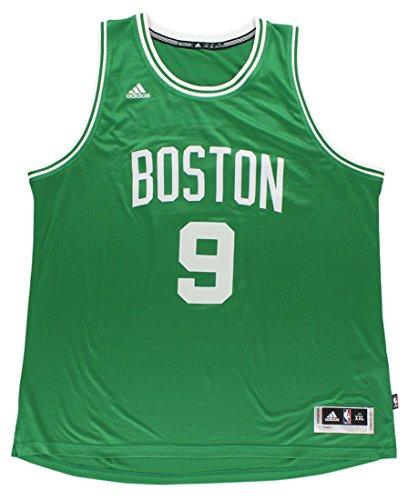 (adidas Mens Boston Celtics Swingman Rondo Jersey Green XL)