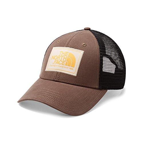 The North Face Mudder Trucker Hat One Size Green/Peyote Beige/Amber
