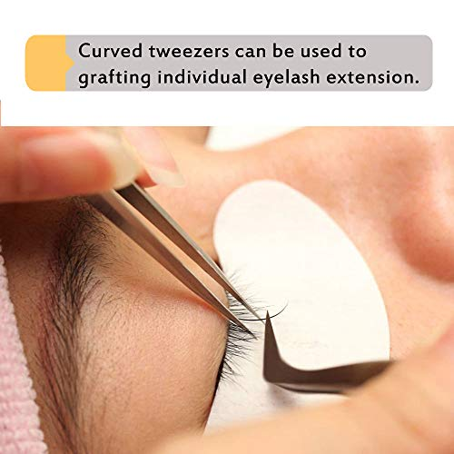Eyelash Extension Tweezers for Volume Lashes Professional Precision