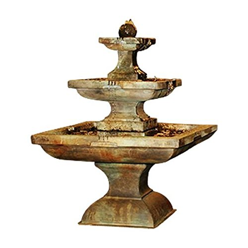 Henri Studio 4 Piece Equinox Fountain, Tall, Relic Nebbia