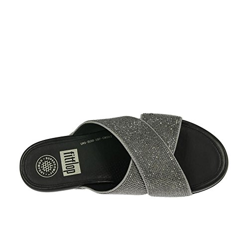 Pewter Pewter Aix Crystal Slide Crossover qzggf1x8