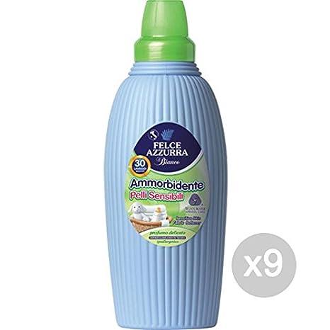 Felce Juego 9 Azul suavizante 2 litros Sensibles detergente ...