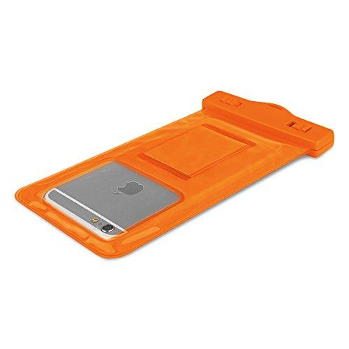 BASEUS Universal Wasserdichte Schutzhülle Tasche für iphone 55s 5C se 66S Samsung S3S4S5A3A5A310A510J1Ace J2J5Smartphone von unter 14cm–Orange