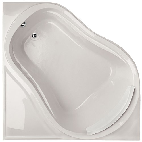 Eclipse Tub Acrylic (Hydro Systems ECL6464ATA-WHI-WOV.BIS Eclipse Acrylic Tub with Thermal Air System (Drain Included), Biscuit)