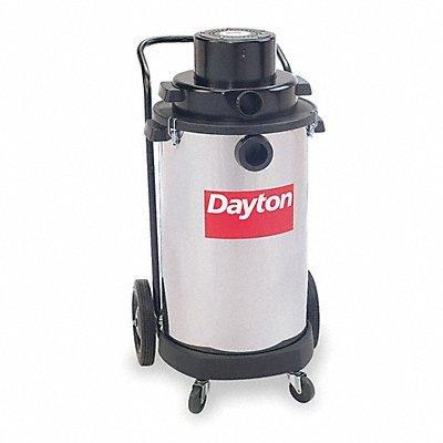 Wet/Dry Vacuum, 4 HP, 20 gal, 120V