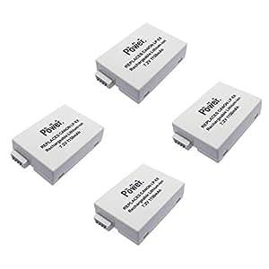 DMK 4 X LP-E8 1150mAh Battery for Canon EOS 550D 600D X4 X5 T2i T3i etc