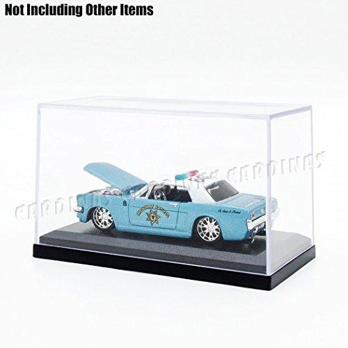 Odoria Clear Acrylic Display Box Case 3.3