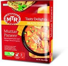 MTR Paneer Butter Masala, Ready to Eat, 10.56-Ounce (Pack of 5)