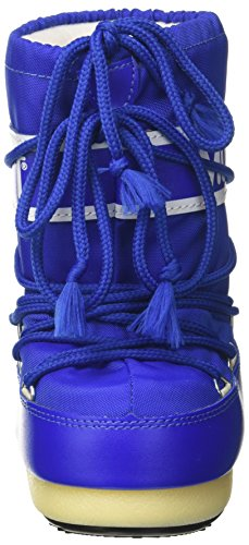 075 Blu Blau Boot Moon Tecnica unisex Elettrico Outdoor Nylon SchneeStiefel z670Rqw