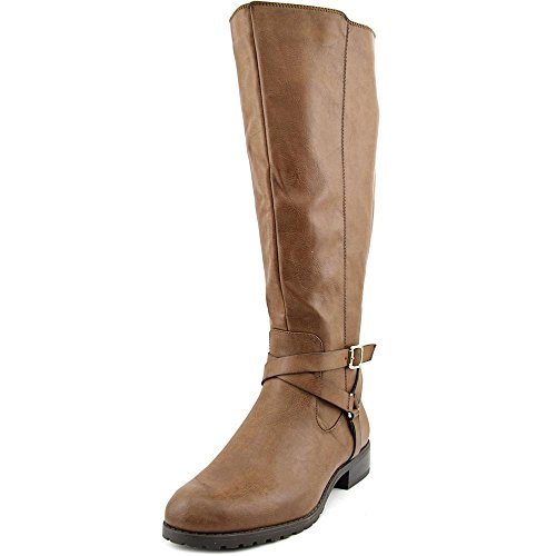 Style & Co Brigyte Wide Calf Women US 10 Brown Knee High Boot by Style & Co.