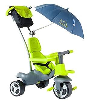 Molto- Urban Trike Easy Control Verde con Ruedas de Goma, Bolsa y ...