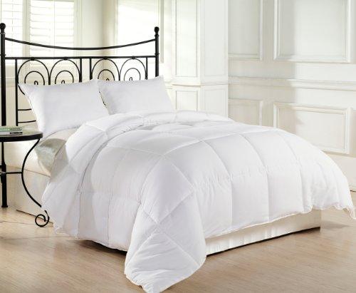 White Extra Filled Down Alternative Comforter Duvet Insert w