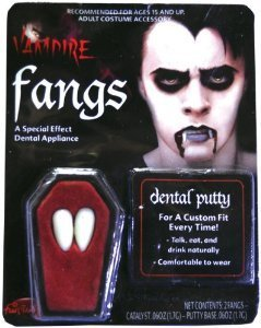 Novelty Vampire Fangs halloween dracular teeth putty to stick