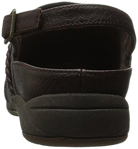 para Street Matte Mujer Nova Brown Brown Mule Easy Zapatillas dT1wITq