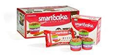 The Smartcake goes beyond Gluten Free. Its most unique feature is the combination of being gluten free and net zero carbs and yet so tasty! There are no sugars and no starches in the product, which makes it ideal for people with carbohydrate-...
